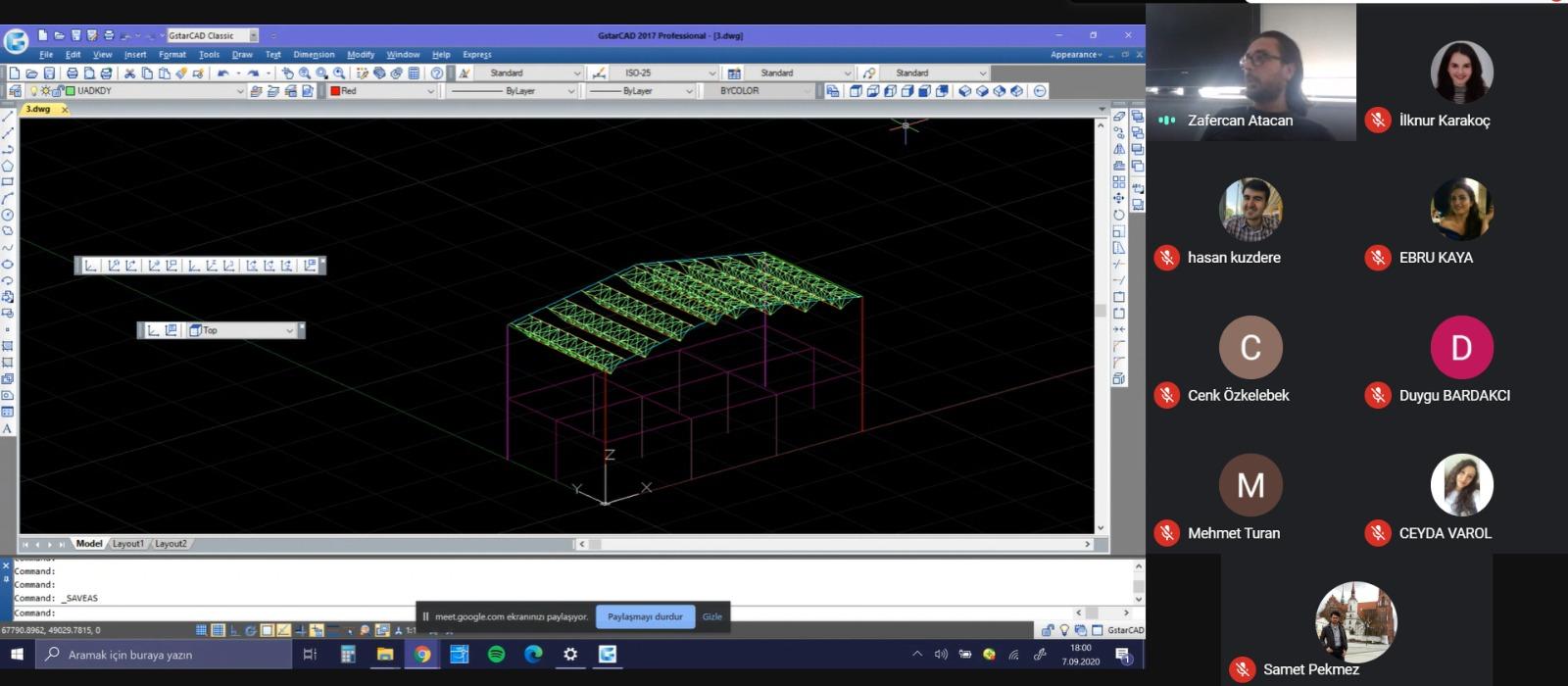 Çelik Yapı Tasarım